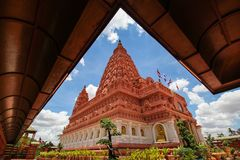 WAT PA SIRI WATTANA WISUT, NAKHON SAWAN, Thailand lizenzfreie stockbilder