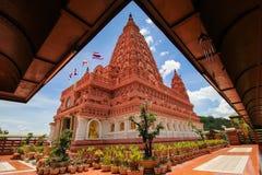 WAT PA SIRI WATTANA WISUT, NAKHON SAWAN, THAILAND. Beautiful temple Stock Image
