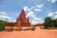 WAT PA SIRI WATTANA WISUT, NAKHON SAWAN, THAILAND. Beautiful temple Royalty Free Stock Photography