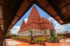 WAT PA SIRI WATTANA WISUT, NAKHON SAWAN, THAILAND. PA SIRI WATTANA WISUT temple Stock Images