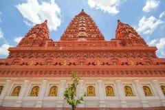 WAT PA SIRI WATTANA WISUT, NAKHON SAWAN, THAILAND. PA SIRI WATTANA WISUT temple Stock Photo