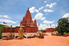 WAT PA SIRI WATTANA WISUT, NAKHON SAWAN, THAILAND. PA SIRI WATTANA WISUT temple Stock Image