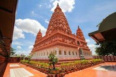 WAT PA SIRI WATTANA WISUT, NAKHON SAWAN, THAILAND. Beautiful temple Royalty Free Stock Image