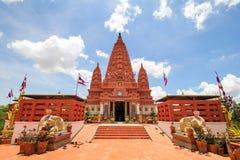 WAT PA SIRI WATTANA WISUT, NAKHON SAWAN, THAILAND. Beautiful temple Stock Photo
