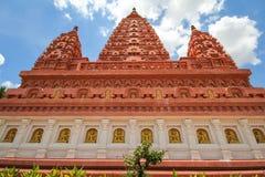 WAT PA SIRI WATTANA WISUT, NAKHON SAWAN, THAILAND. Beautiful temple Stock Photography