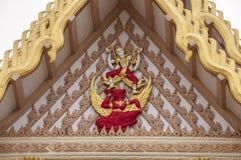 Wat Pa Suthawat Sakon Nakhon, Thailand Arkivbild