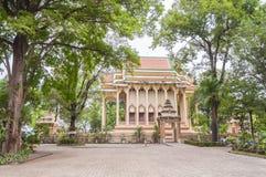Wat Pa Suthawat, Sakon Nakhon,Thailand Royalty Free Stock Photography
