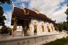 Wat Padarapirom dans la forêt Image libre de droits