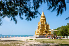 Wat Pagoda Laem Sor, Koh Samui, Tailandia Foto de archivo