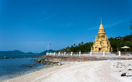 Wat Pagoda Laem Sor, Koh Samui, Thailand Lizenzfreie Stockbilder