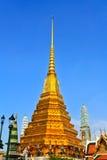 Wat pagoda Phra Kaew Thailand Zdjęcia Stock