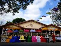 Wat Pah Samarkki of Killeen stock image