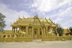 Wat paknam joelo architecture temple Royalty Free Stock Image
