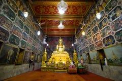 Wat Paknum Бангкок Таиланд Стоковая Фотография