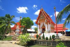 Wat Palelai dans Nonthaburi, Thaïlande Photo stock