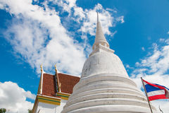 Wat Pamok Worawihan. Is located in the municipal area of Pa Mok on the west bank of the Chao Phraya River, 18 kilometers from Muang district on Highway No. 309 Royalty Free Stock Photography
