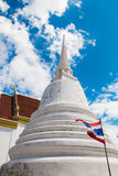 Wat Pamok Worawihan. Is located in the municipal area of Pa Mok on the west bank of the Chao Phraya River, 18 kilometers from Muang district on Highway No. 309 Stock Image