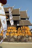 Wat Pan Tao en Chiang Mai imágenes de archivo libres de regalías