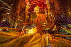 Wat Panancherng Royalty Free Stock Photo