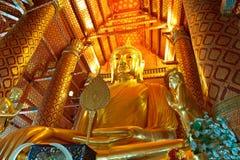 Wat Panancheung en Tailandia fotos de archivo