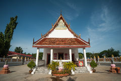 Wat Panomyong. Or Wat Mae nomyong is north side of the city. Arch opposite school Tumbol Tha Vasukri Royalty Free Stock Images