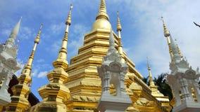 Wat Pantao Temple at Chiang mai, Thailand.  stock footage