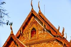 Wat Pathum Wanaram Temple Stock Foto's
