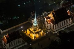Wat pathum wanaram Stock Photos