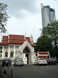 Wat Pathumwanaram-Tempel Lizenzfreie Stockfotografie