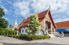 Wat payabajs, Nan, Thailand Royaltyfri Bild