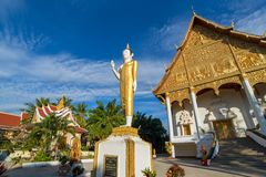 Wat Pha που Luang, Vientiane Στοκ Φωτογραφία