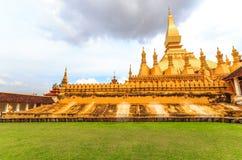 wat Pha das Luang Stockbild