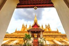 wat Pha das Luang Lizenzfreies Stockfoto
