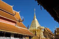 Wat Pha That Doi Suthep imagen de archivo