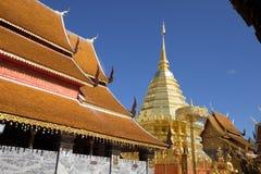 Wat Pha That Doi Suthep foto de archivo