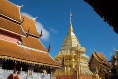 Wat Pha That Doi Suthep fotografía de archivo libre de regalías