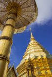 Wat Pha That Doi Suthep Stock Foto
