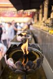 Wat Pha That Doi Suthep. In Chiengmai, Thailand Royalty Free Stock Photography