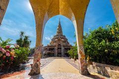 Wat Pha Kaew place a fairly spectacular landscape, which is cal. Phetchabun, January, 18, 2016: Wat Pha Kaew place a fairly spectacular landscape, which is Royalty Free Stock Photos