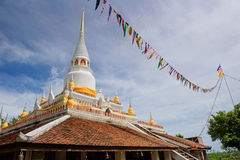 Wat Pha Kho. Pagoda in southern of Thailand Royalty Free Stock Photos