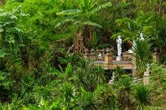 Wat Pha Lat-wildernistempel in Chiang Mai, Thailand Royalty-vrije Stock Foto's