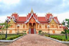 Wat Pha Luang,万象,老挝 库存照片
