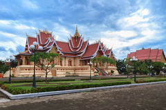 Wat Pha Luang,万象,老挝 免版税库存照片