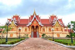 Wat Pha Luang,万象,老挝 库存图片