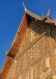 Wat Pha Luang,万象 免版税库存照片
