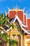 Wat Pha Luang,万象 免版税图库摄影