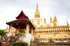 Wat Pha-That Luang Royalty Free Stock Images