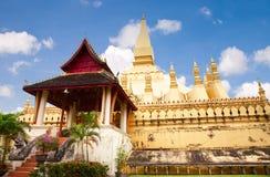 Wat Pha-That Luang. Vientiane, Laos Stock Photography