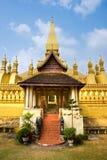 Wat Pha That Luang, Laos. Stock Photography