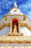 Wat Pha Nam Yoi, Pha Nam Yoi temple, Roi Et Thailand, Phra Maha Chedi Chai Mongkol Royalty Free Stock Images